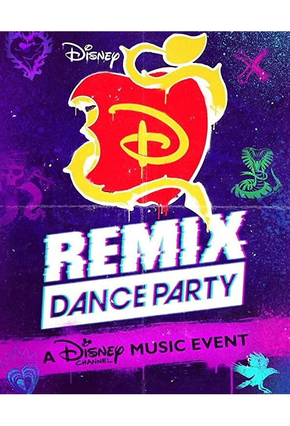 Descendants Remix Dance Party kapak