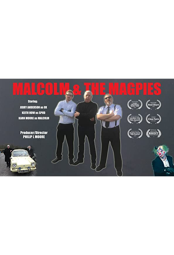 Malcolm and the Magpies kapak