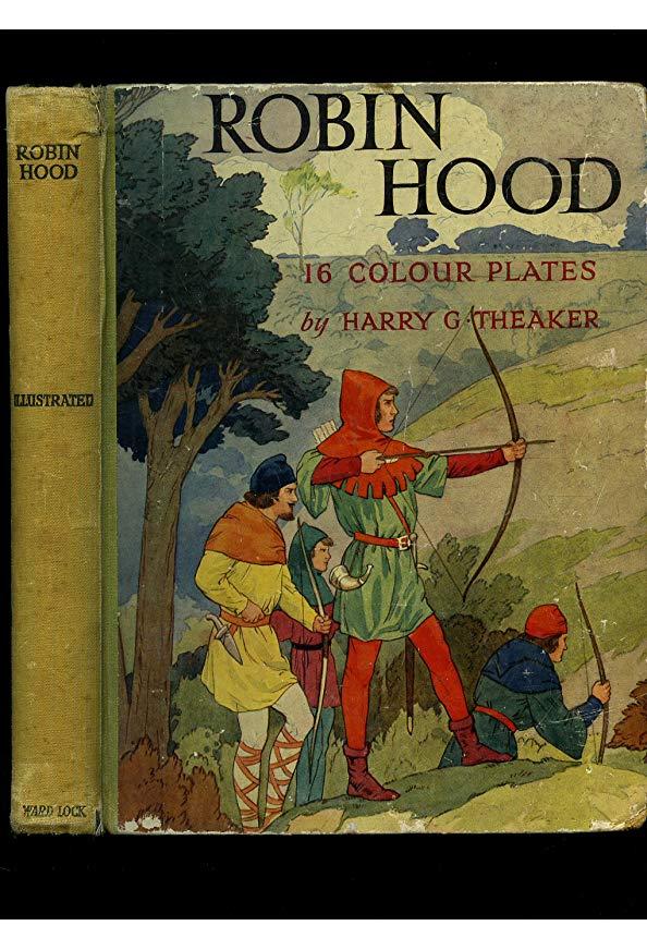 Robin Hood and His Merry Men kapak