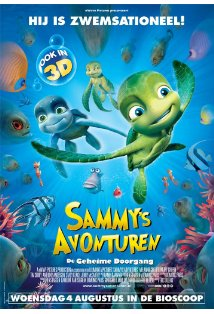 A Turtle's Tale: Sammy's Adventures kapak
