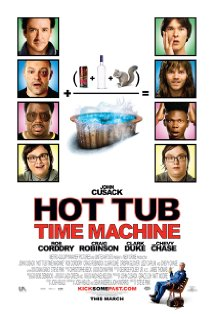 Hot Tub Time Machine kapak