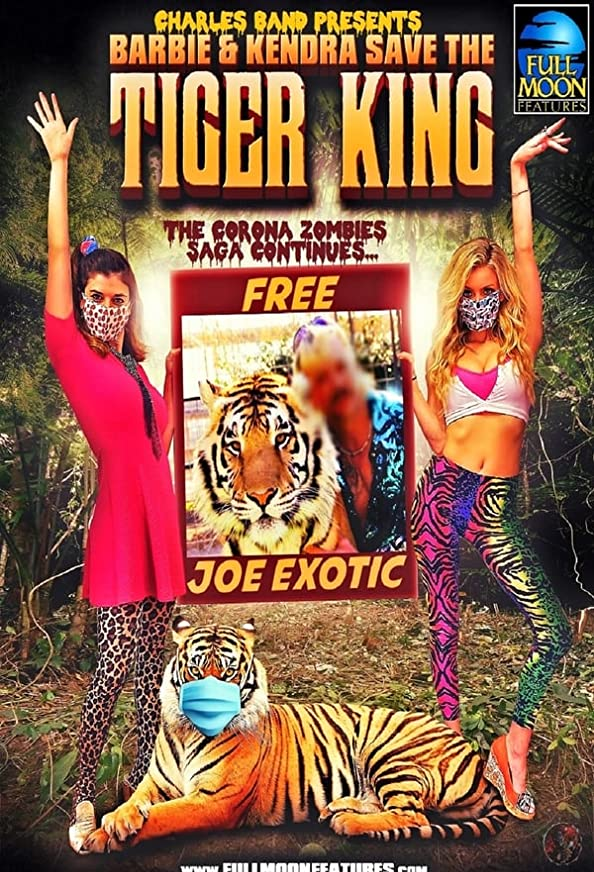 Barbie & Kendra Save the Tiger King kapak