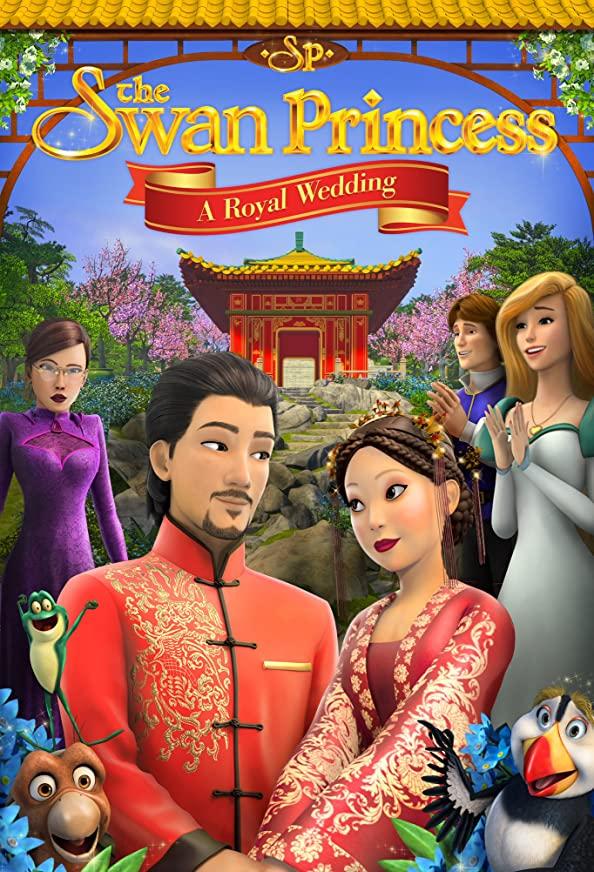 The Swan Princess: A Royal Wedding kapak