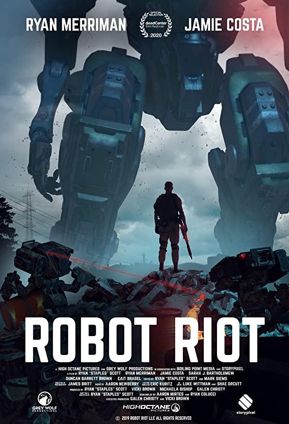 Robot Riot kapak