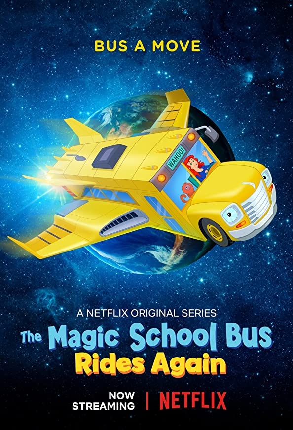 The Magic School Bus Rides Again: Kids in Space kapak