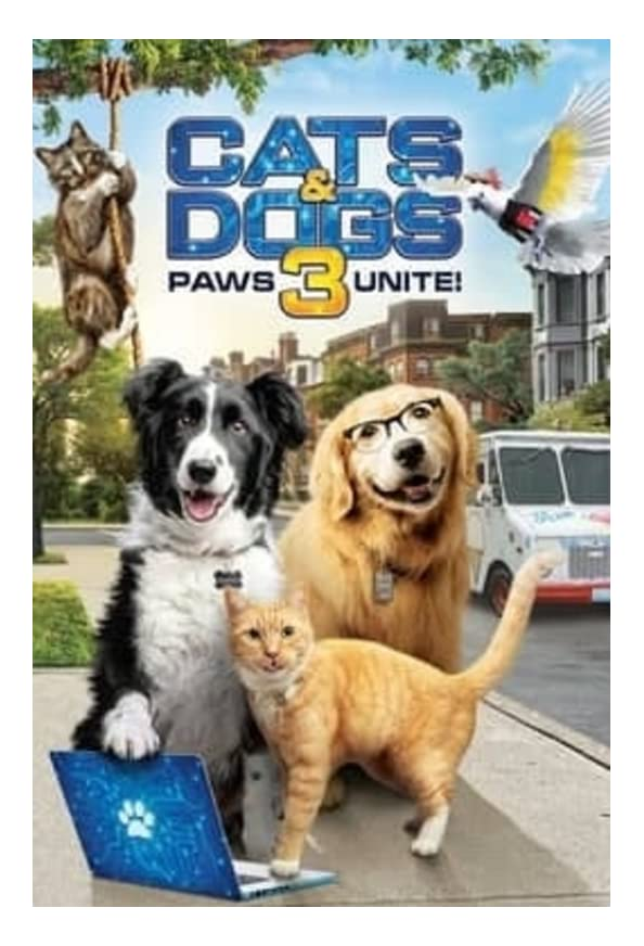Cats & Dogs 3: Paws Unite kapak