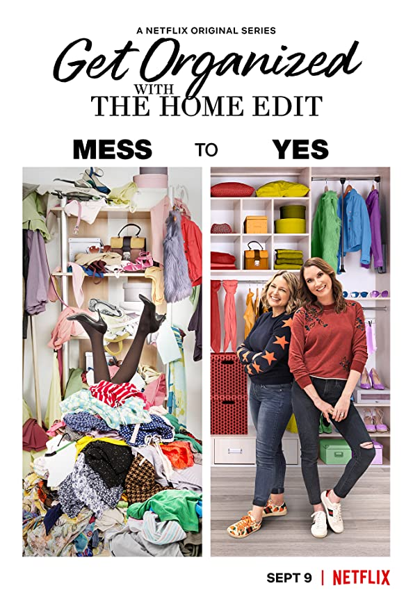 Get Organized with the Home Edit kapak