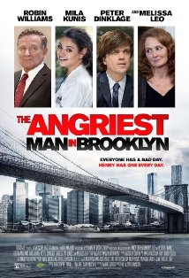 The Angriest Man in Brooklyn kapak