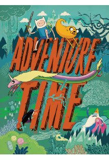 Adventure Time with Finn & Jake kapak