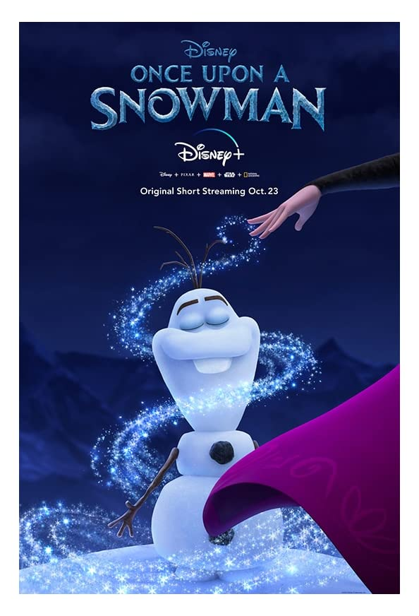 Once Upon a Snowman kapak