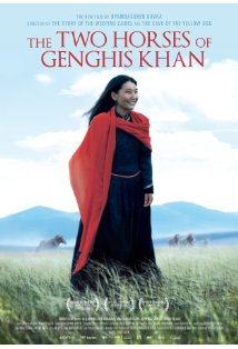 The Two Horses of Genghis Khan kapak