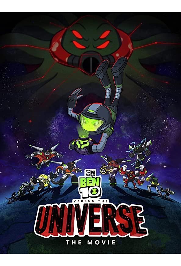 Ben 10 vs. the Universe: The Movie kapak