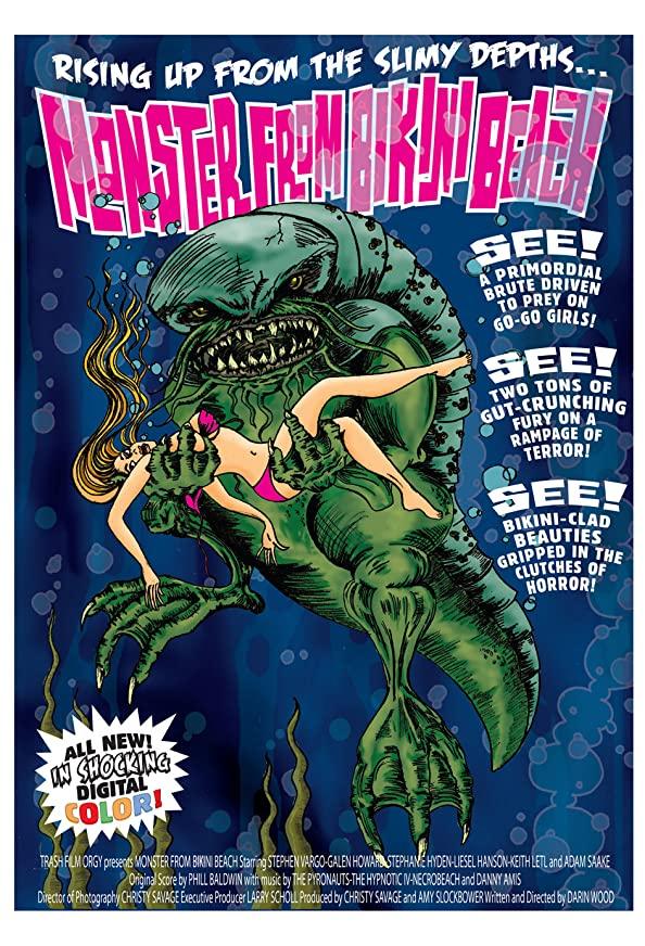 Monster from Bikini Beach kapak