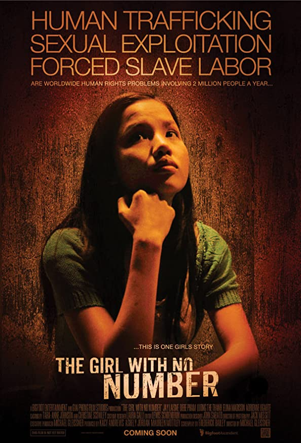 The Girl with No Number kapak