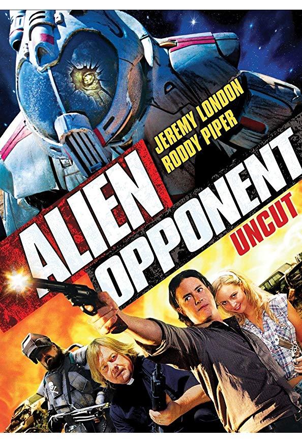 Alien Opponent kapak