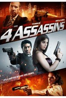 Four Assassins kapak