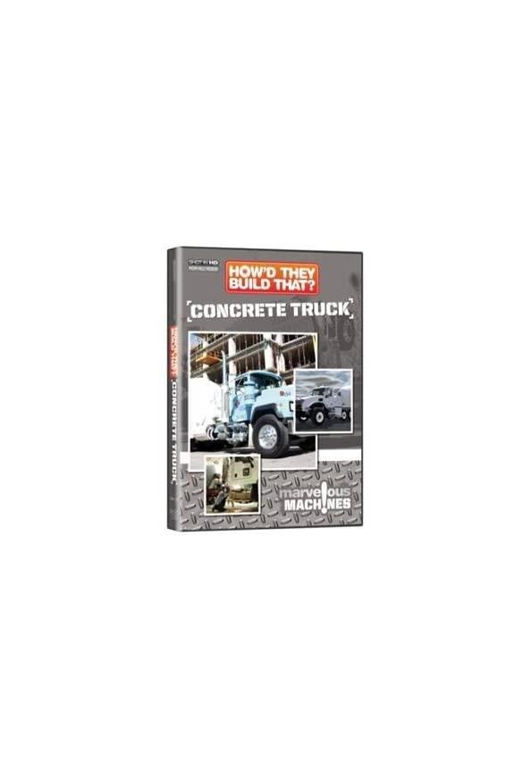 How'd They Build That? Concrete Truck kapak