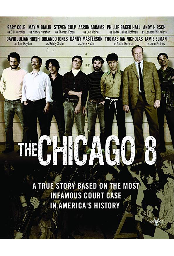 The Chicago 8 kapak