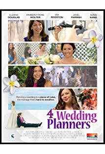 4 Wedding Planners kapak