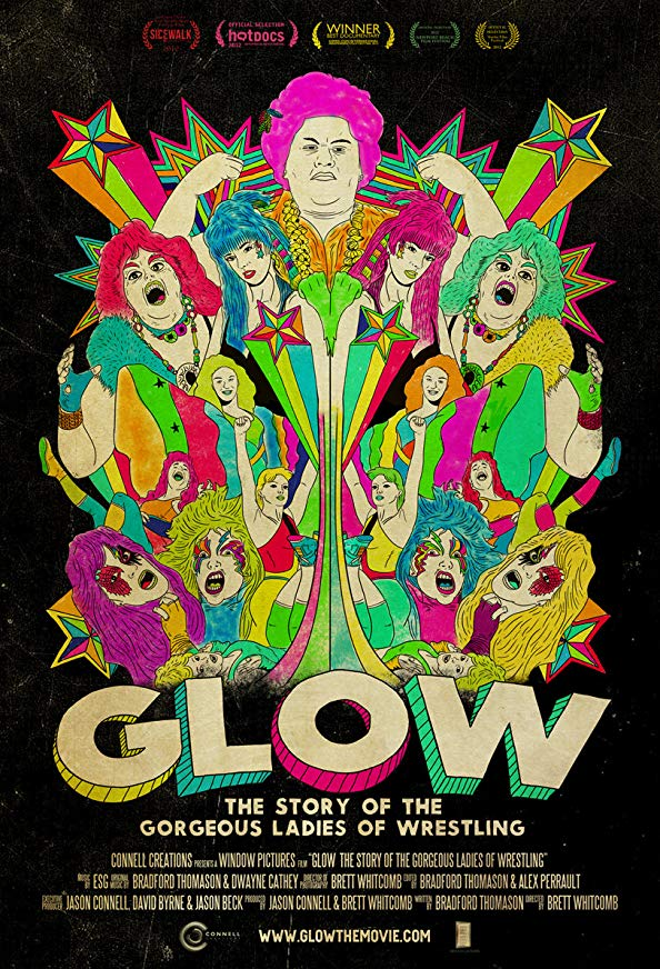 GLOW: The Story of the Gorgeous Ladies of Wrestling kapak