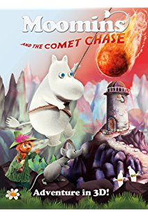 Moomins and the Comet Chase kapak