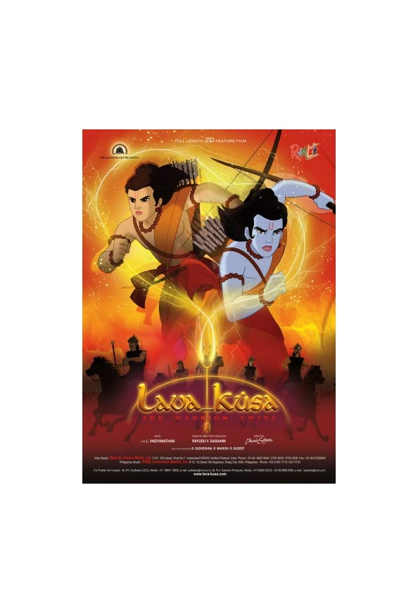 Lava Kusa: The Warrior Twins kapak