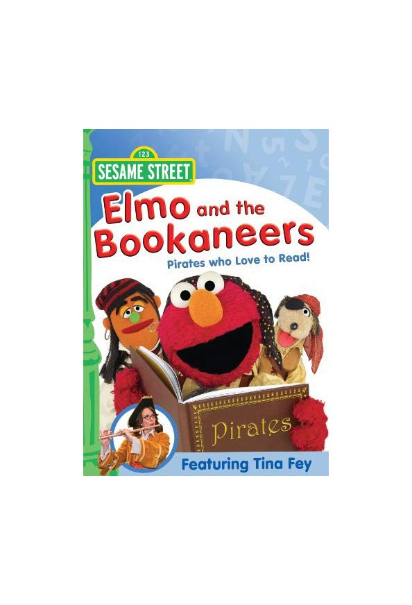 Elmo and the Bookaneers kapak