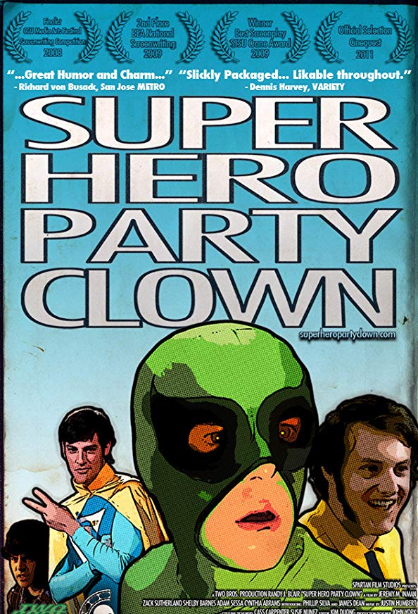 Super Hero Party Clown kapak