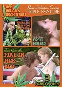 Fire in Her Bed kapak