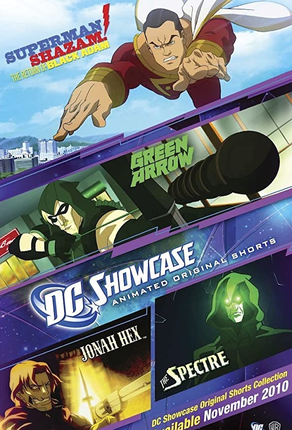 DC Showcase Original Shorts Collection kapak