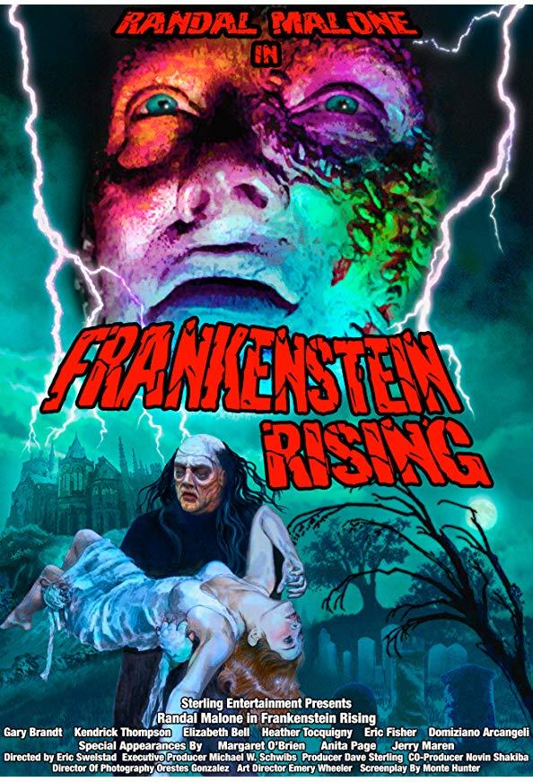Frankenstein Rising kapak