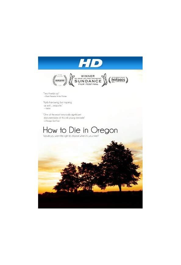 How to Die in Oregon kapak