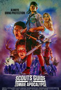 Scouts Guide to the Zombie Apocalypse kapak