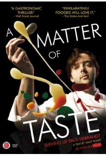 A Matter of Taste: Serving Up Paul Liebrandt kapak