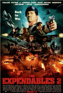 The Expendables 2 kapak