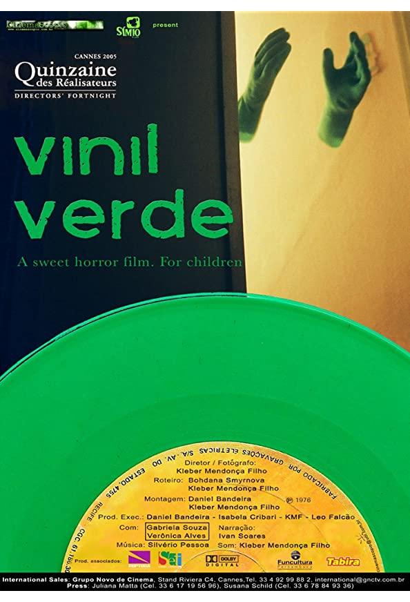 Green Vinyl kapak