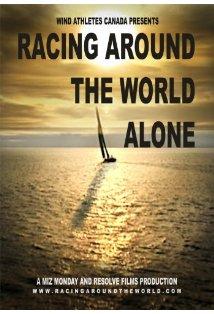 Racing Around the World Alone kapak