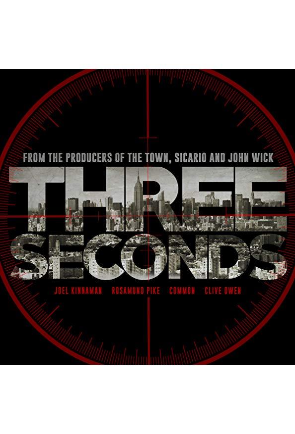 Three Seconds kapak