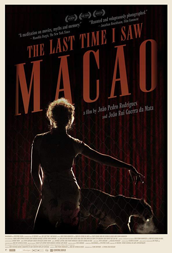 The Last Time I Saw Macao kapak