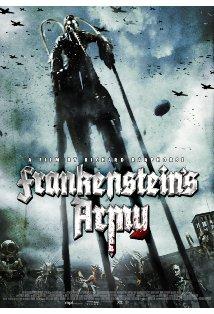 Frankenstein's Army kapak