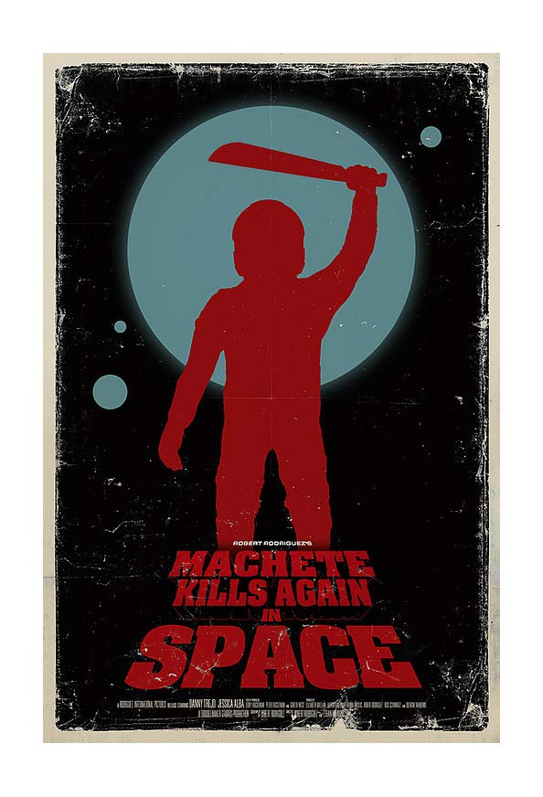 Machete Kills in Space kapak
