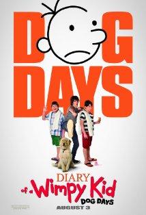 Diary of a Wimpy Kid: Dog Days kapak