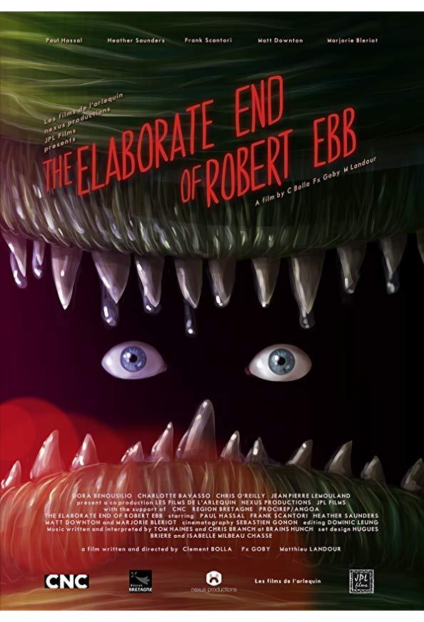 The Elaborate End of Robert Ebb kapak