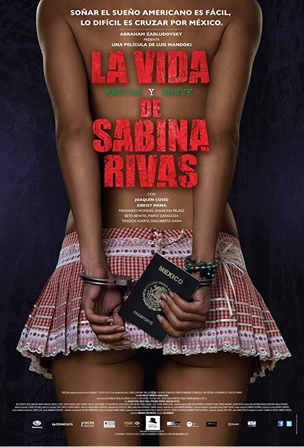 La vida precoz y breve de Sabina Rivas kapak