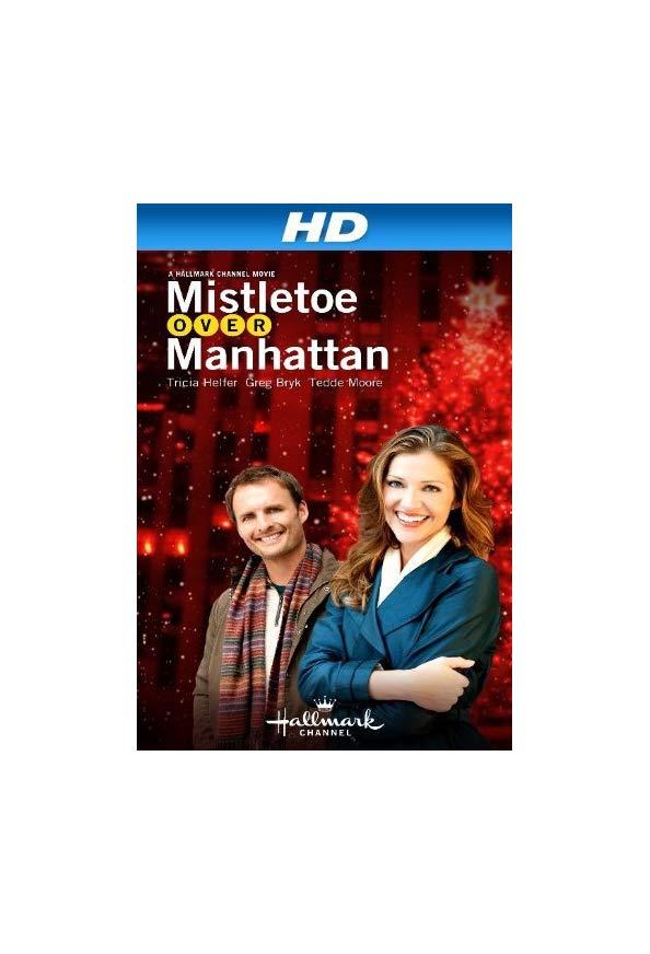 Mistletoe Over Manhattan kapak