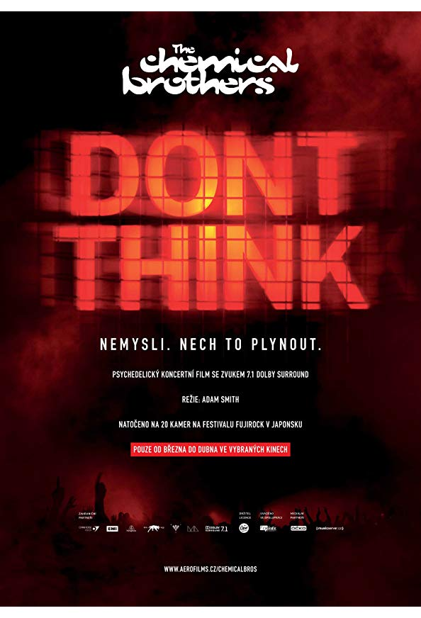 The Chemical Brothers: Don't Think kapak