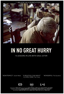 In No Great Hurry: 13 Lessons in Life with Saul Leiter kapak