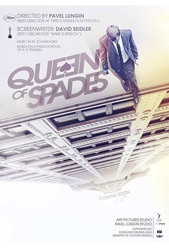 The Queen of Spades kapak