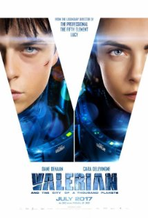 Valerian and the City of a Thousand Planets kapak