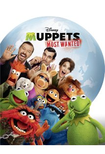 Muppets Most Wanted kapak